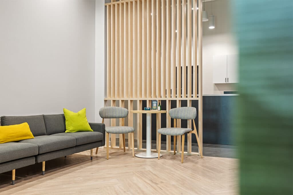 NeuMed Modern Urgent Care Waiting Lounge